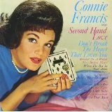 Connie Francis Sings Second Hand Love Lyrics Connie Francis