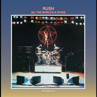 All The World's A Stage Lyrics Rush