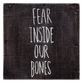Fear Inside Our Bones Lyrics