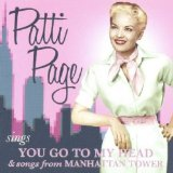 You Go to My Head Lyrics Patti Page