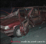 Music To Crash Cars To Lyrics Deathboy