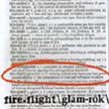 Glam-rok Lyrics Fireflight