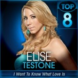 American Idol: Top 8 – 80's Lyrics Elise Testone
