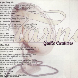 Gentle Creatures Lyrics Tarnation