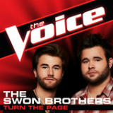 Turn the Page (The Voice Performance) [Single] Lyrics The Swon Brothers