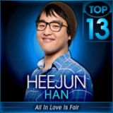 American Idol: Top 13 – Whitney Houston & Stevie Wonder Lyrics Heejun Han
