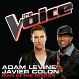 Man In The Mirror (The Voice Performance) (Single) Lyrics Adam Levine & Javier Colon
