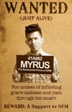 Wanted(Just Alive) Lyrics Myrus