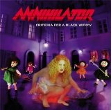 Criteria For A Black Widow Lyrics Annihilator